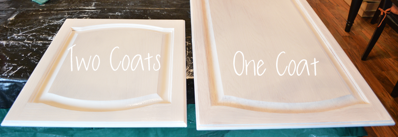 DIY Painted Kitchen Cabinets Process with No Sanding or Priming