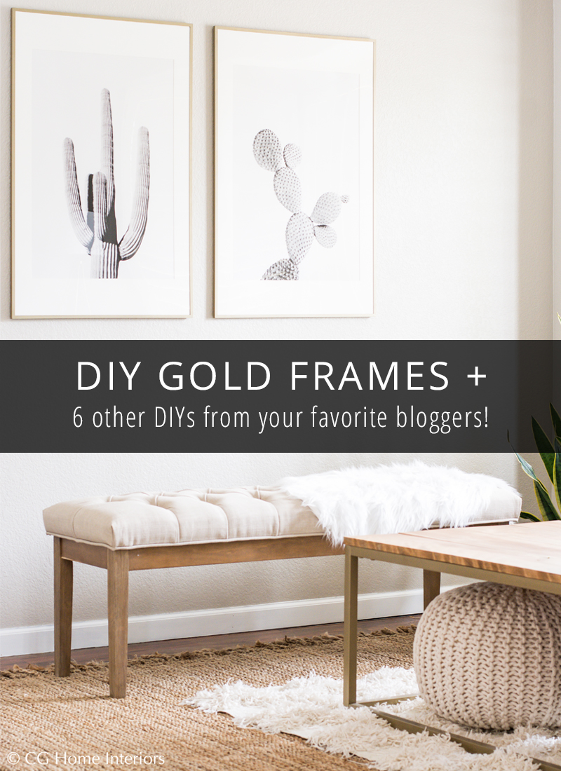 GOLD Picture Frames - IKEA Hack