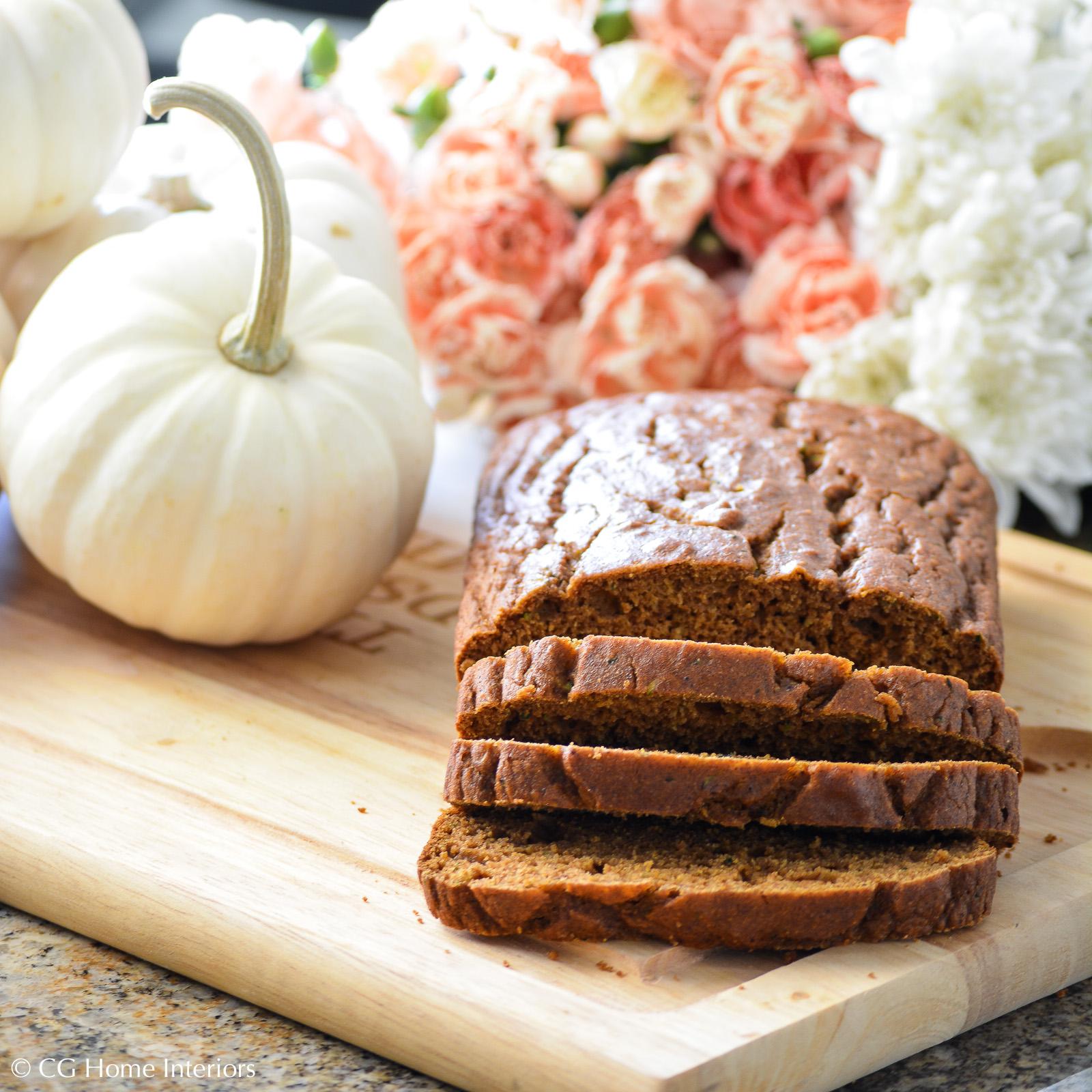 Healthy & Delicious Pumpkin Zucchini Bread