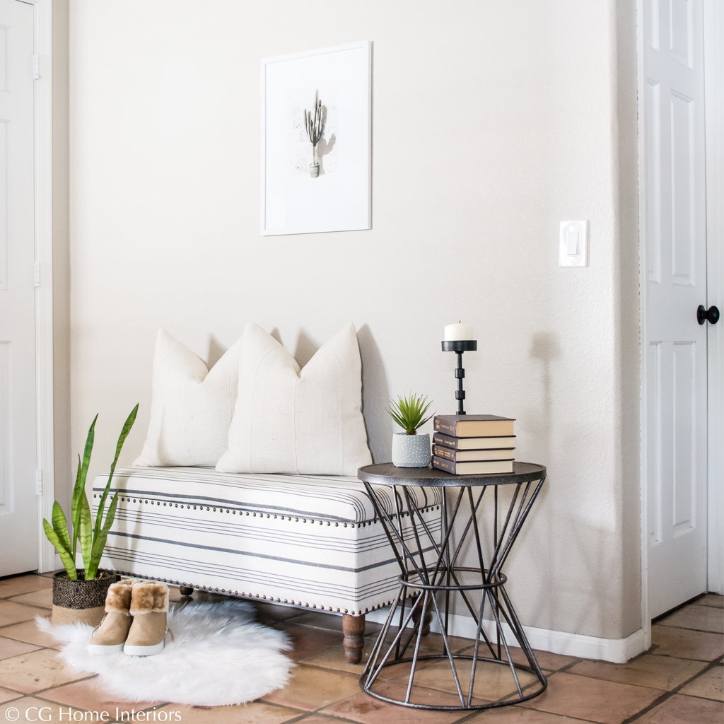 Bench, Side Table, Succulent, Home Decor, Seating
