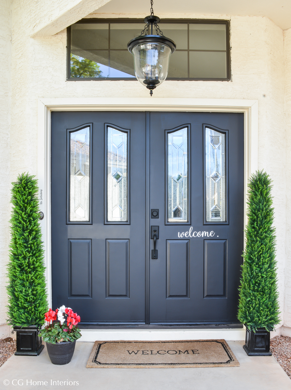 My Interior and Exterior Paint Colors, Sherwin Williams, Behr, Tricorn Black