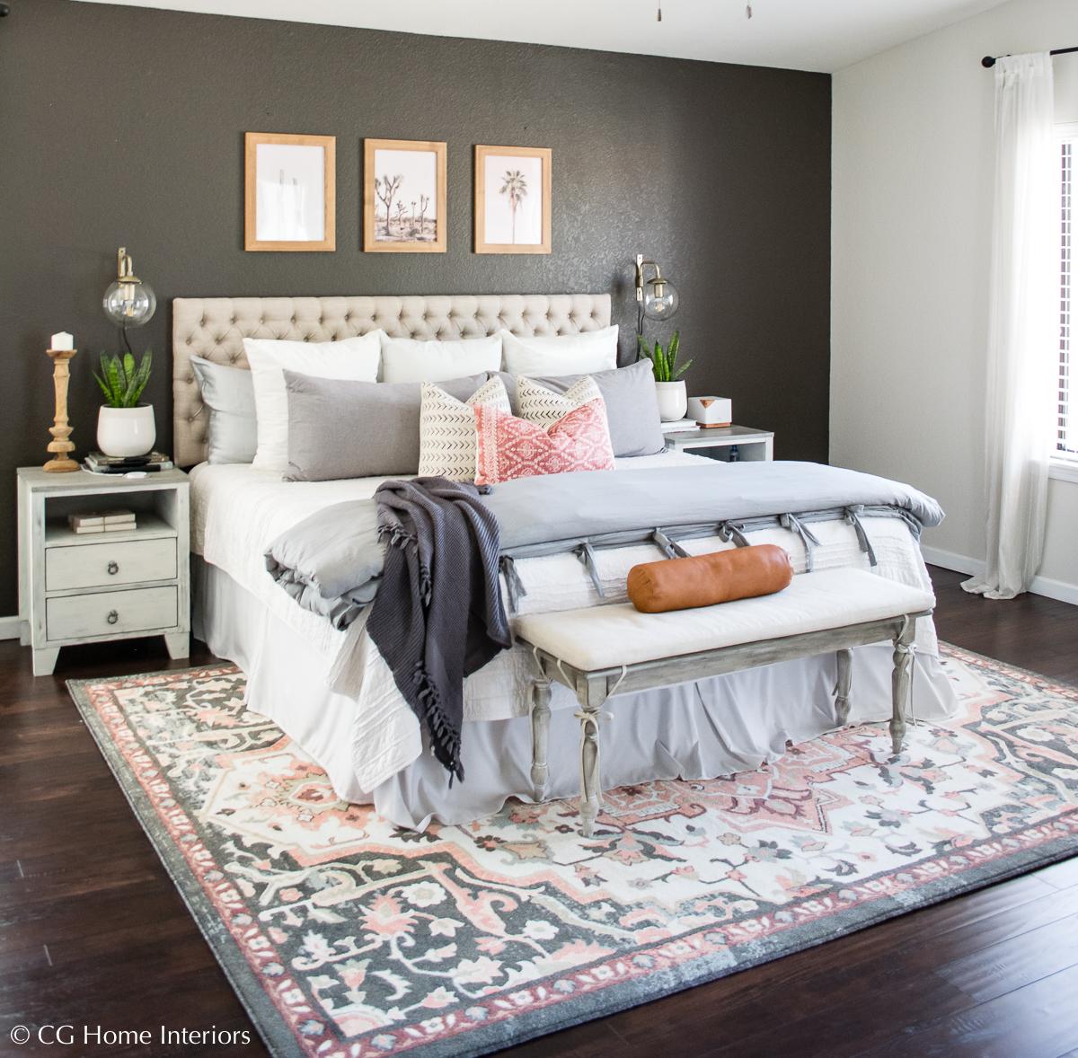 Master Bedroom Refresh Under $500 | Mohawk Home Spring Tour