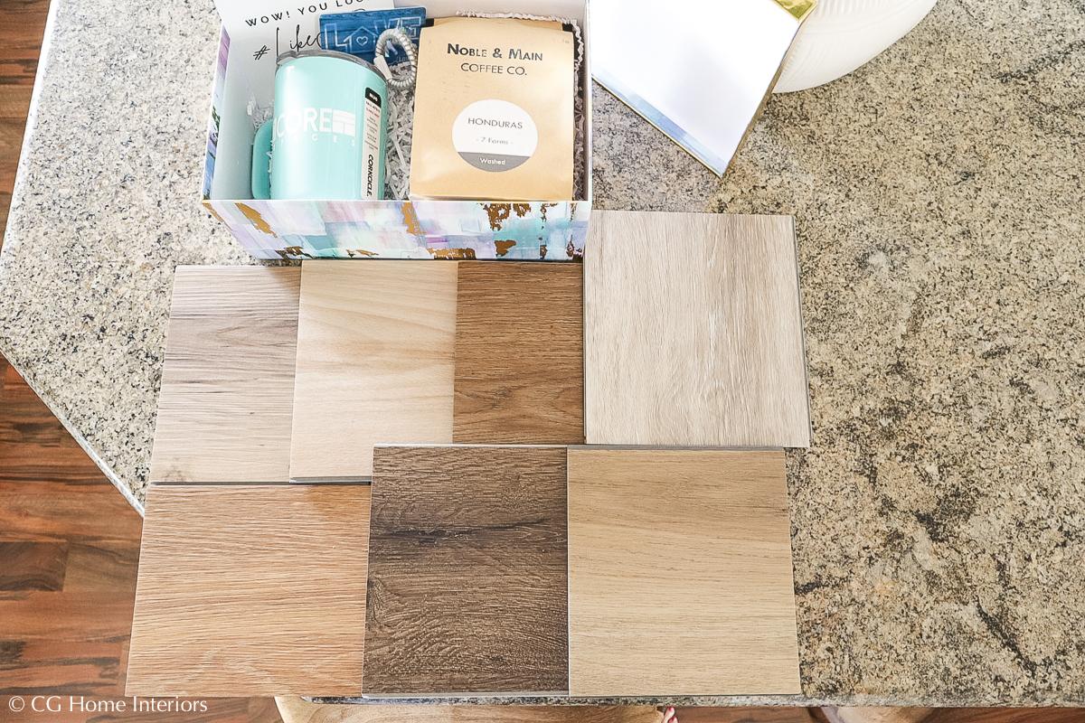 ProCore Plus Luxury Vinyl Plank Flooring, English Grove Oak